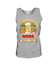 Promoted to Nana est 2020 Beer me Unisex Tank thumbnail