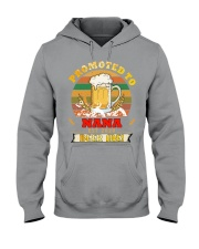 Promoted to Nana est 2020 Beer me Hooded Sweatshirt thumbnail