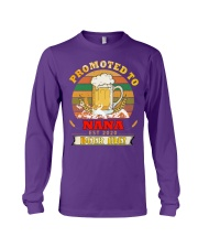 Promoted to Nana est 2020 Beer me Long Sleeve Tee thumbnail