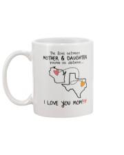 49 43 WI TX Wisconsin Texas mother daughter D1 Mug back
