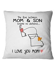 08 25 DE MO Delaware Missouri PMS6 Mom Son Square Pillowcase thumbnail