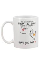 44 28 UT NV Utah Nevada Mom and Son D1 Mug back