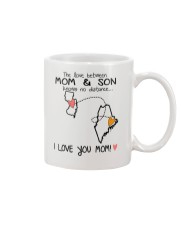 30 19 NJ ME New Jersey Maine Mom and Son D1 Mug front