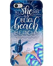 Beach She Loves Phone Case i-phone-8-case
