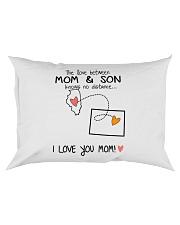 13 50 IL WY Illinois Wyoming PMS6 Mom Son Rectangular Pillowcase tile