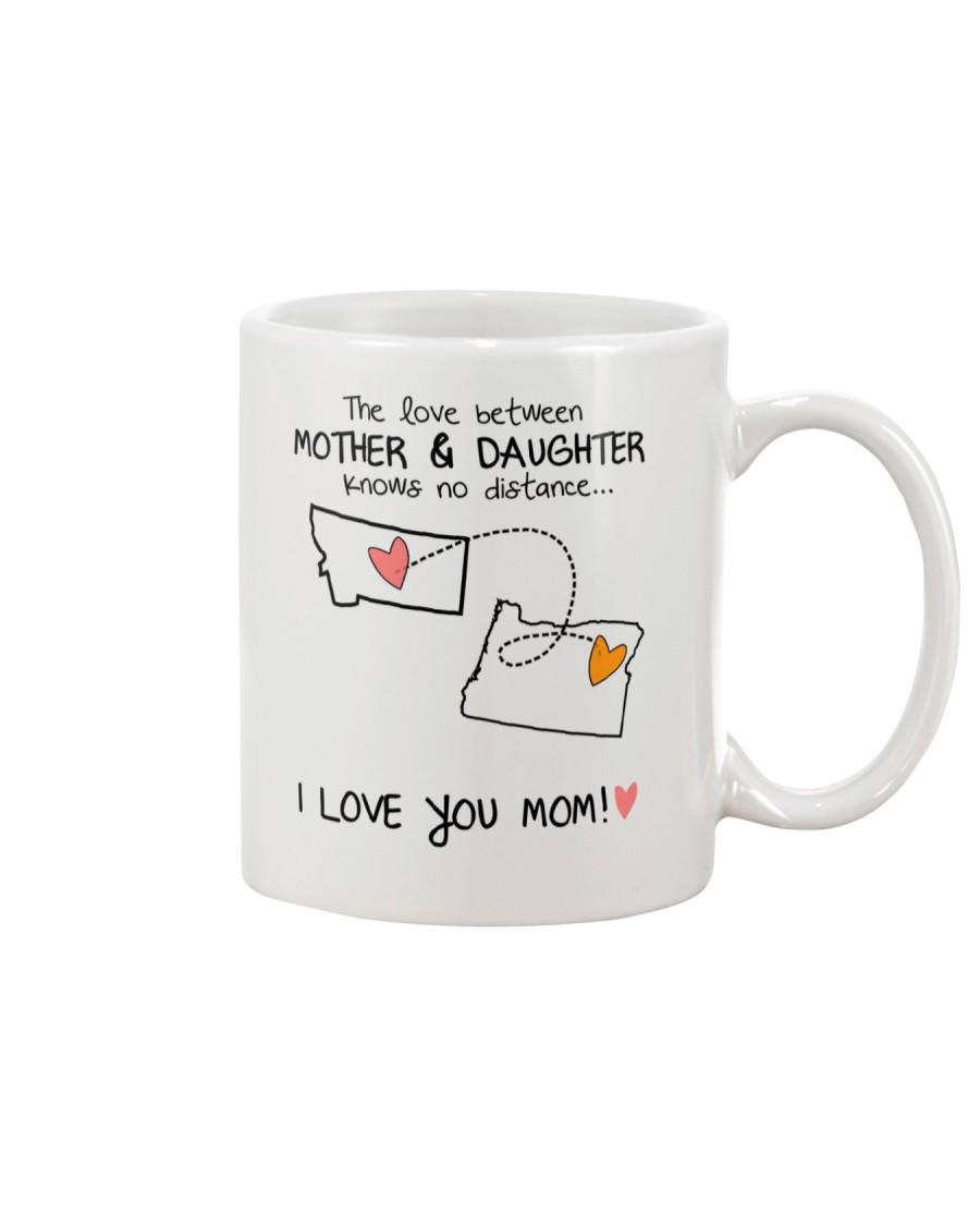 26 37 MT OR Montana Oregon mother daughter D1 Mug