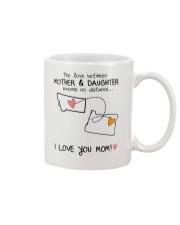 26 37 MT OR Montana Oregon mother daughter D1 Mug front