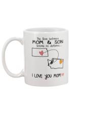 16 47 KS WA Kansas Washington Mom and Son D1 Mug back