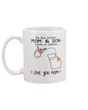 48 10 WV GA West Virginia Georgia Mom and Son D1 Mug back