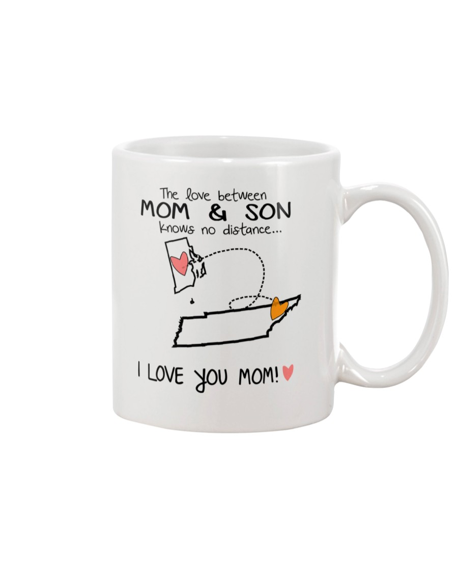 39 42 RI TN Rhode Island Tennessee PMS6 Mom Son Mug