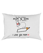 39 42 RI TN Rhode Island Tennessee PMS6 Mom Son Rectangular Pillowcase tile
