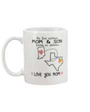 14 43 IN TX Indiana Texas Mom and Son D1 Mug back