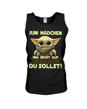 Juni Madchen Unisex Tank thumbnail