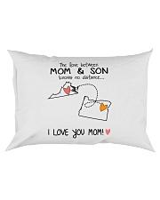 46 37 VA OR Virginia Oregon PMS6 Mom Son Rectangular Pillowcase tile