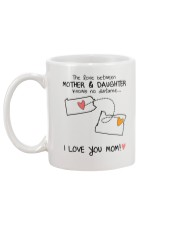 38 37 PA OR Pennsylvania Oregon mother daughter D1 Mug back