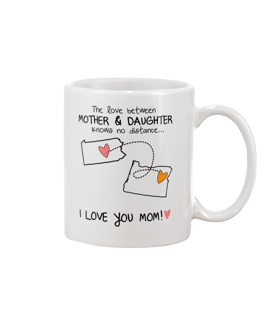 38 37 PA OR Pennsylvania Oregon mother daughter D1 Mug