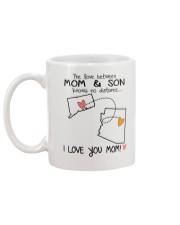 07 03 CT AZ Connecticut Arizona Mom and Son D1 Mug back