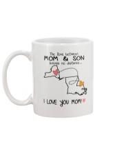32 18 NY LA New York Louisiana PMS6 Mom Son Mug back