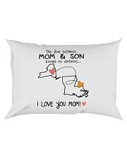 32 18 NY LA New York Louisiana PMS6 Mom Son Rectangular Pillowcase thumbnail