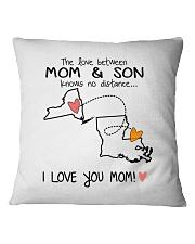 32 18 NY LA New York Louisiana PMS6 Mom Son Square Pillowcase thumbnail