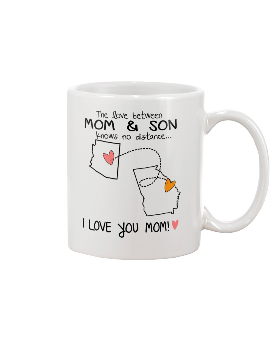 03 10 AZ GA Arizona Georgia Mom and Son D1 Mug
