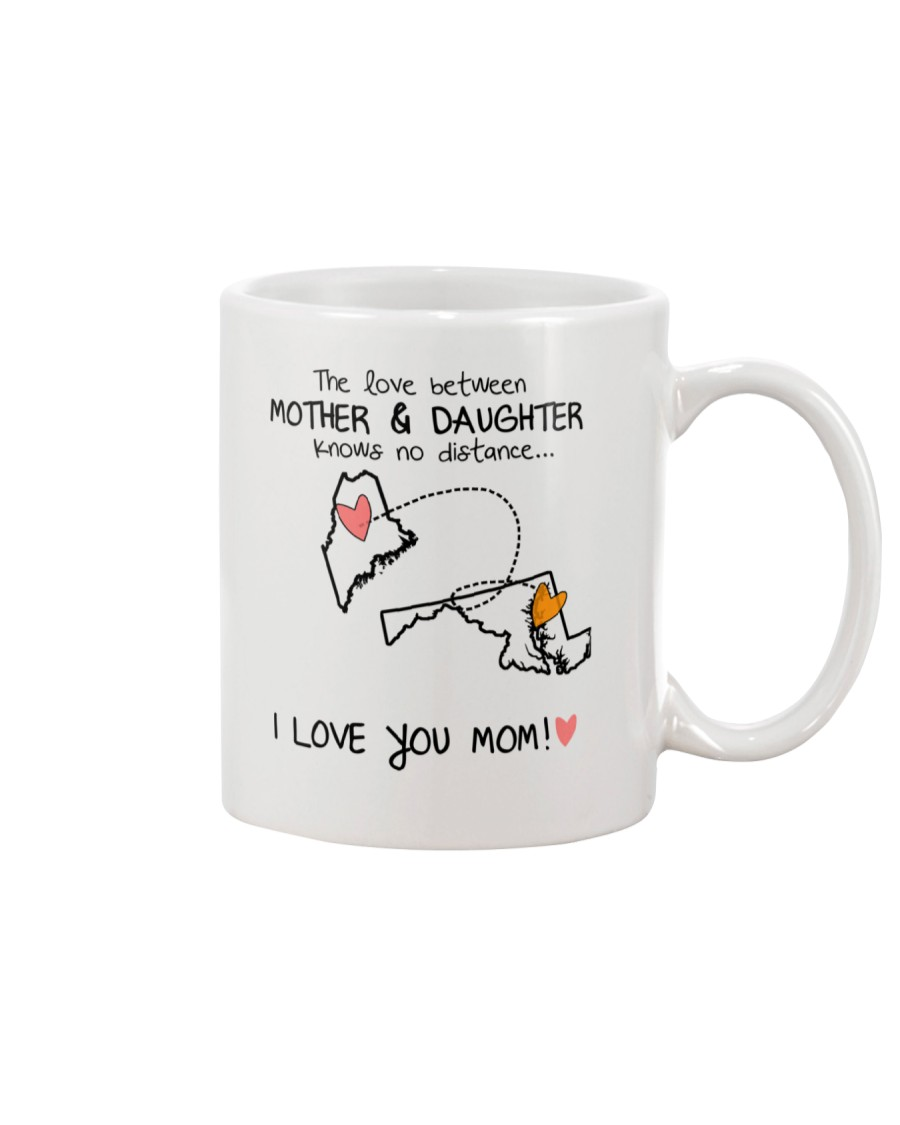 19 20 ME MD Maine Maryland mother daughter D1 Mug