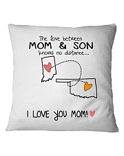 14 36 IN OK Indiana Oklahoma PMS6 Mom Son Square Pillowcase thumbnail