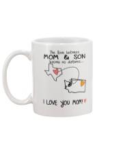 43 47 TX WA Texas Washington Mom and Son D1 Mug back