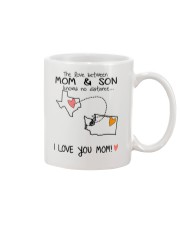 43 47 TX WA Texas Washington Mom and Son D1 Mug front