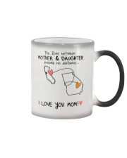 05 10 CA GA California Georgia mother daughter D1 Color Changing Mug tile