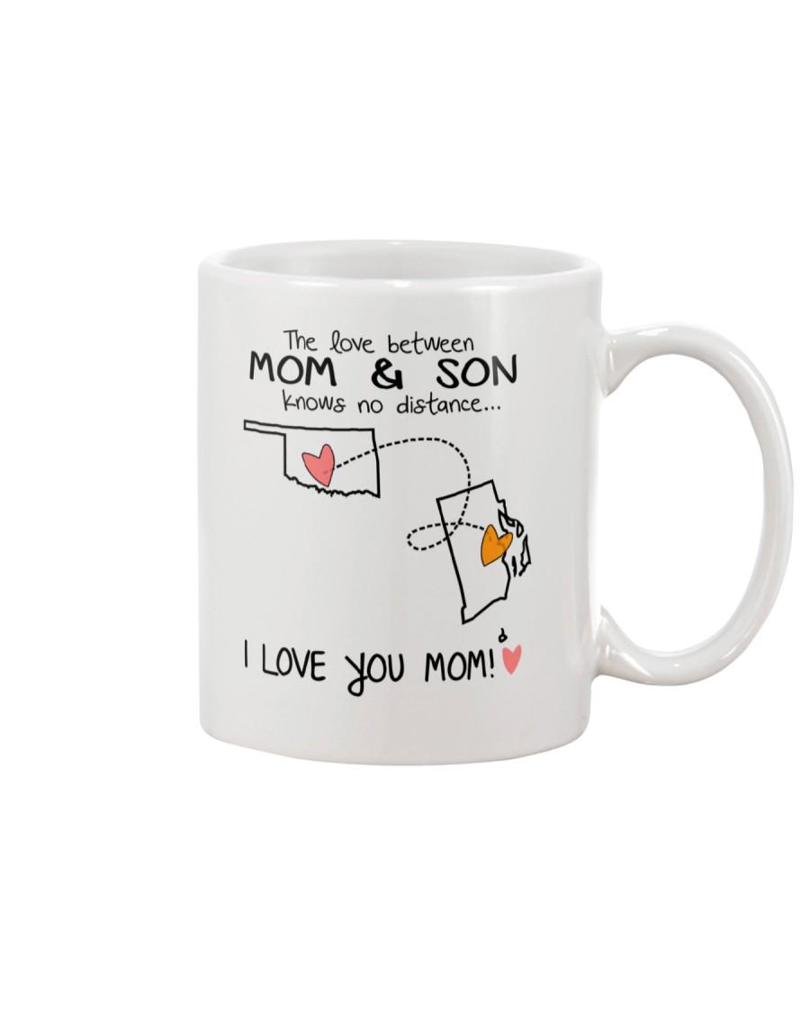 36 39 OK RI Oklahoma Rhode Island Mom and Son D1 Mug