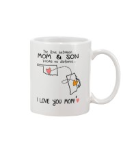 36 39 OK RI Oklahoma Rhode Island Mom and Son D1 Mug front
