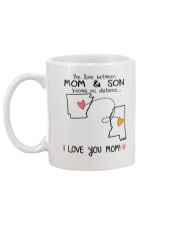 04 24 AR MS Arkansas Mississippi Mom and Son D1 Mug back