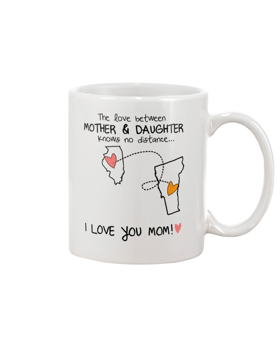 13 45 IL VT Illinois Vermont mother daughter D1 Mug