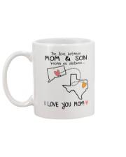 07 43 CT TX Connecticut Texas Mom and Son D1 Mug back