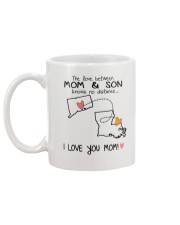 07 18 CT LA Connecticut Louisiana Mom and Son D1 Mug back