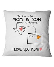 43 06 TX CO Texas Colorado PMS6 Mom Son Square Pillowcase thumbnail
