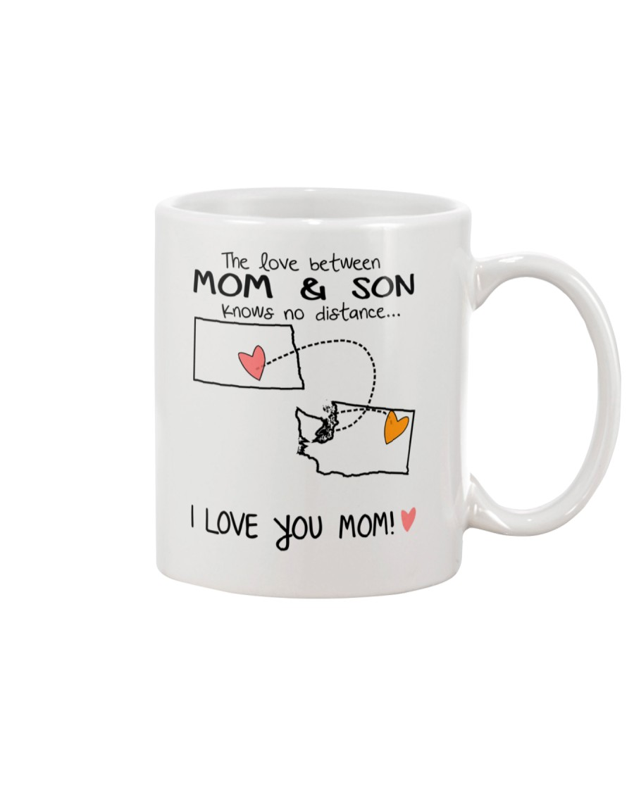 34 47 ND WA North Dakota Washington B1 Mother Son  Mug