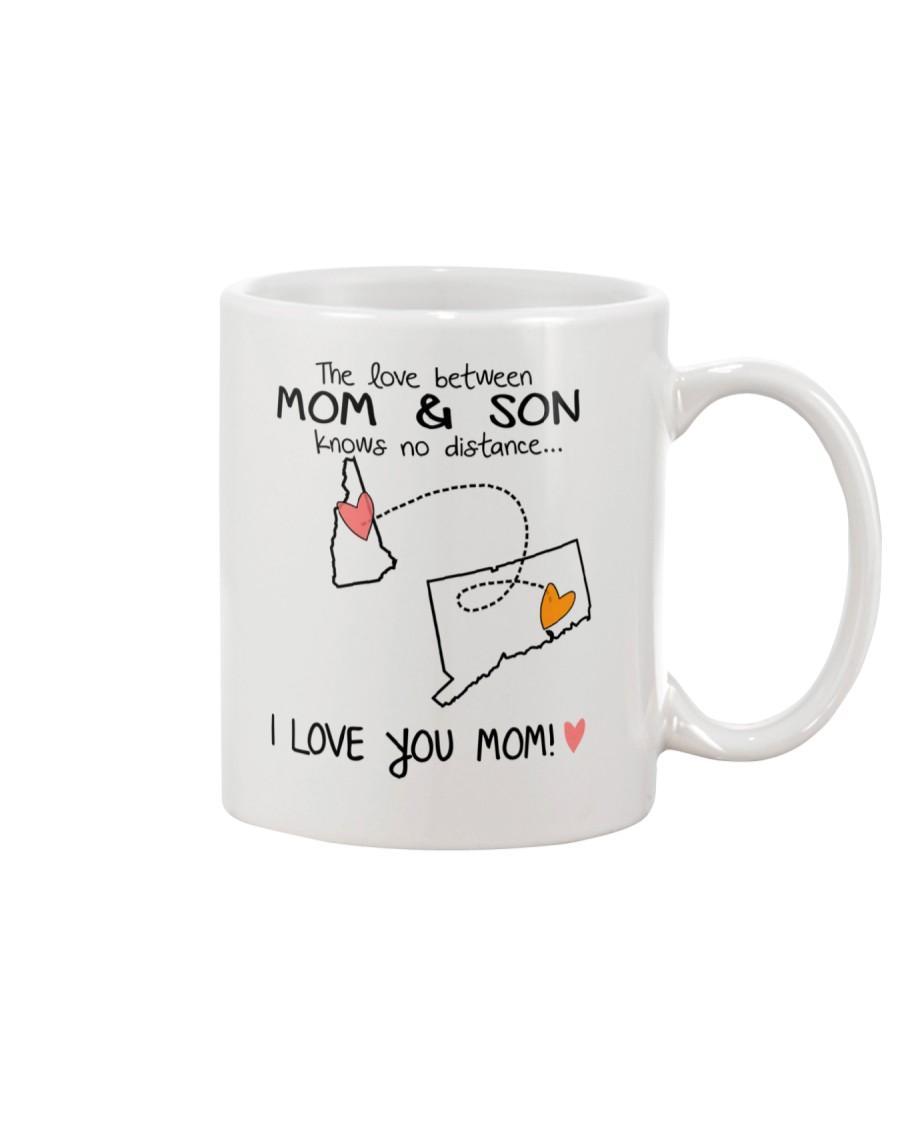 29 07 NH CT New Hampshire Connecticut Mom and Son  Mug