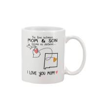 22 31 MI NM Michigan New Mexico PMS6 Mom Son Mug front