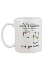 44 14 UT IN Utah Indiana mother daughter D1 Mug back