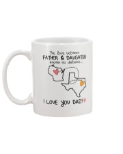 49 43 WI TX Wisconsin Texas Father Daughter D1 Mug back