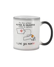 15 21 IA MA Iowa Massachusetts mother daughter D1 Color Changing Mug thumbnail