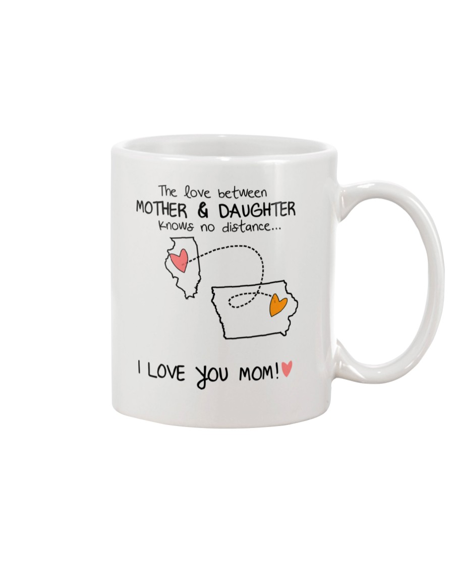 13 15 IL IA Illinois Iowa mother daughter D1 Mug