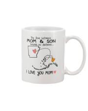 04 02 AR AK Arkansas Alaska Mom and Son D1 Mug front