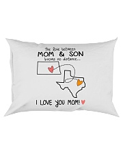 34 43 ND TX North Dakota Texas PMS6 Mom Son Rectangular Pillowcase thumbnail