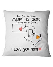 34 43 ND TX North Dakota Texas PMS6 Mom Son Square Pillowcase thumbnail