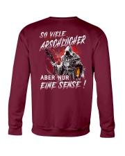 So Viele Arschlocher Crewneck Sweatshirt thumbnail
