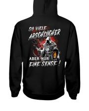 So Viele Arschlocher Hooded Sweatshirt back