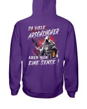 So Viele Arschlocher Hooded Sweatshirt tile